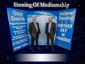 Psychic medium event draws to a close