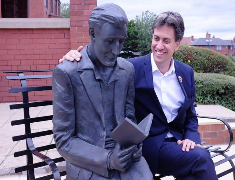 Unveiling Statue of the Poet Laureate Ted Hughes