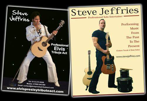 Steve Jeffries Elvis Tribute Act