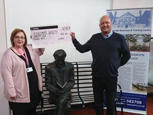 Money Raised For The Alzheimer's Society