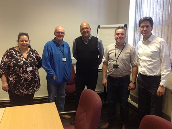Meeting with Ed Miliband MP and Local Councillors