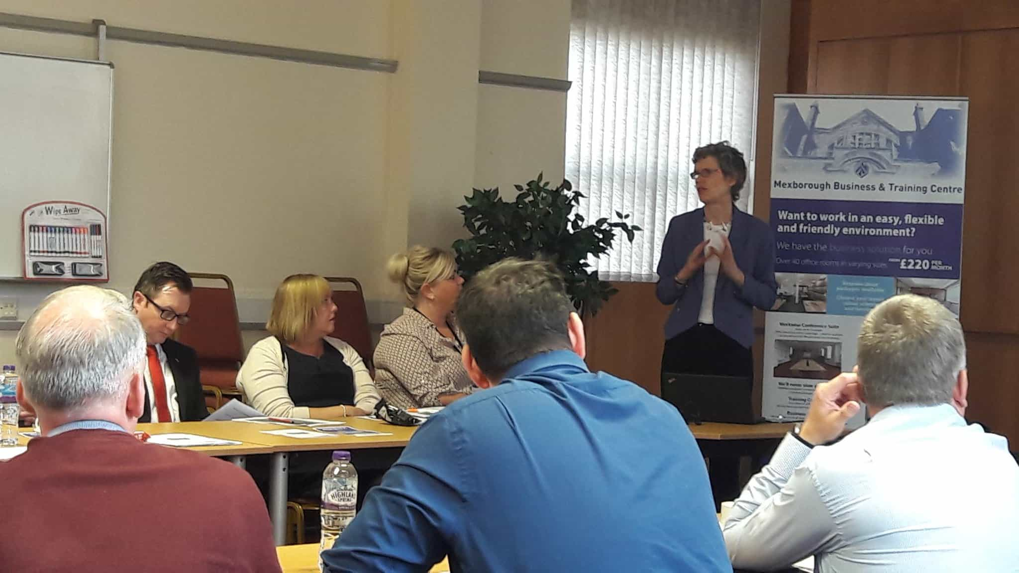 Mexborough Business Centre hosted a selling to the public-sector workshop