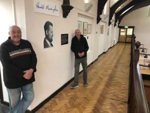 Harold Massingham plaque Mexborough Business Centre